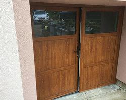 Fen'Azur - Chavelot - Portes De Garage Battante Aluminium
