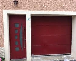 Fen'Azur - Chavelot - Porte De Garage Coloris Tendance
