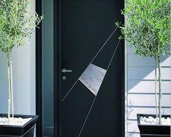 Fen'Azur - Chavelot - Porte d'Entrée Pleine Aluminium