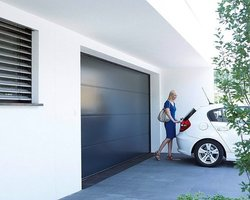 Fen'Azur - Chavelot - Porte De Garage Motorisée