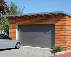 Fen'Azur - Chavelot - Porte De Garage Manuelle
