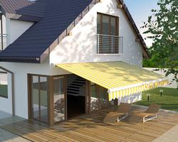 Fen'Azur - Chavelot - Store Banne Électrique